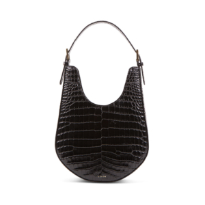 S.Joon Lunar Bag - Black Croc Leather
