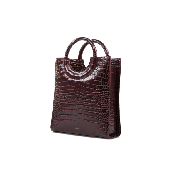 S.Joon Mini Shopper - Bordeaux Croco