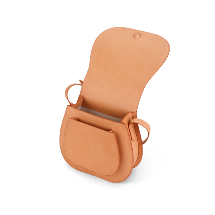S.Joon Saddle Bag - Cammello (open)