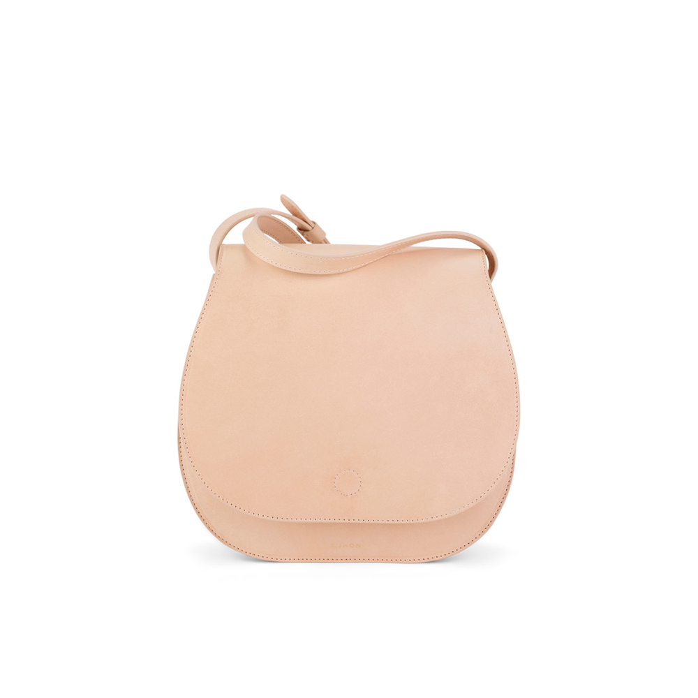 S.Joon Saddle Bag - Crema (front)