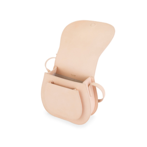 S.Joon Saddle Bag - Crema (angle)