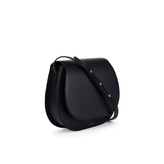 S.Joon Saddle Bag - Nero (angle)