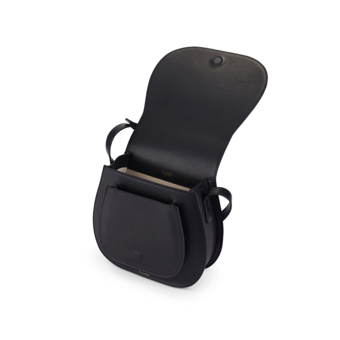 S.Joon Saddle Bag - Nero (open)