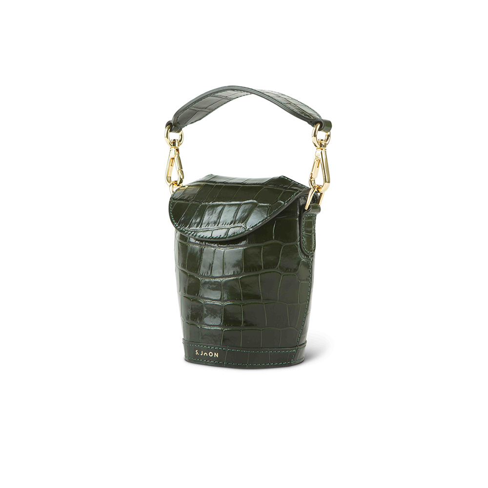 SJOON Evergreen croco mini milk pail side