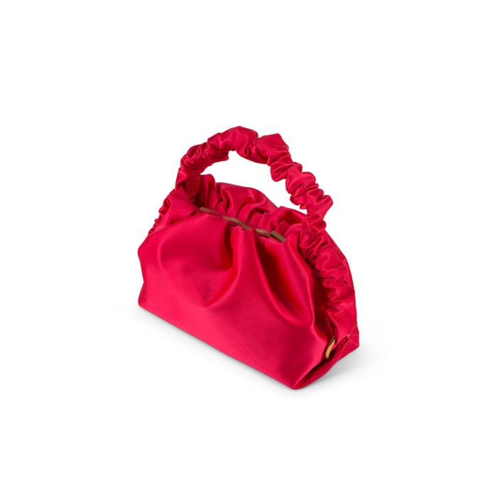 S.JOON - Baby Bao - Pink Satin - Top